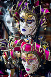 Venetian masks on sale Stock Images