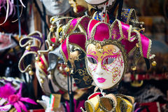 Venetian masks on sale Stock Photos