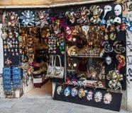 Venetian Masks Shop Stock Photos