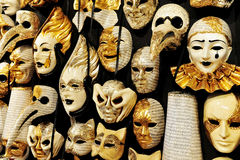 Venetian Masks in Venice, Italy Stock Photo