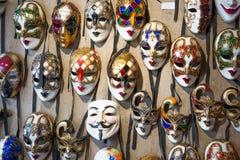 Venetian Masquerade Masks. In the Store stock photos