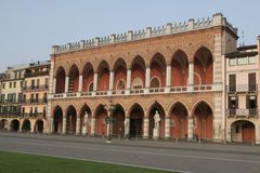 venetian padova slott Royaltyfri Bild