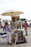 Venetian painter Stock Image