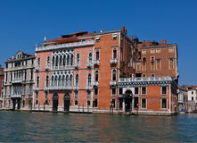 Venetian Palace at the Canal Grande, Venice Stock Photos