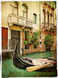 Venetian pictures Stock Photos