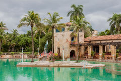 Venetian Pool Coral Gables Florida Royalty Free Stock Photo