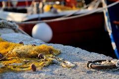 Venetian port in Irakleo Greece Stock Photography