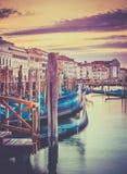 Venetian promenade Stock Photo