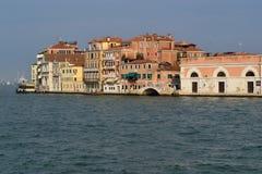 Venetian quay 3 Stock Photos