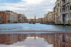 Venetian reflection stock photo