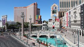 Venetian resort, Vegas stock video footage