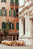 Venetian restaurant Royalty Free Stock Photo