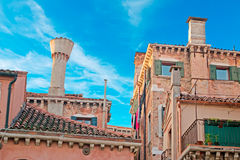 Venetian roofs Royalty Free Stock Images