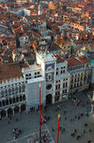 Venetian San mark's square,Italy Royalty Free Stock Image