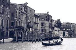 Venetian Scene. Canal of Venice Royalty Free Stock Photos