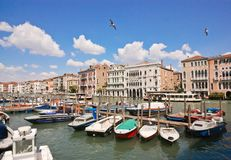 Venetian scenery Royalty Free Stock Photo