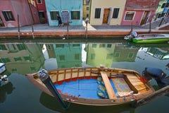 venetian ship Arkivfoton