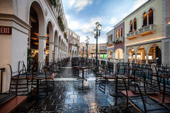 The Venetian Shops Stock Images