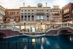 The Venetian Shops Royalty Free Stock Image