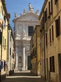 Venetian Side Street. Side street in Venice Stock Images