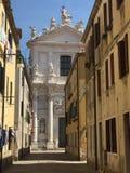 Venetian sidogata Arkivbilder
