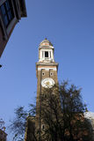 venetian sikt för klockatorn Royaltyfri Bild