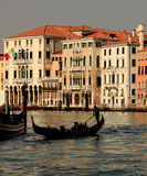 Venetian silhouettes Royalty Free Stock Photo