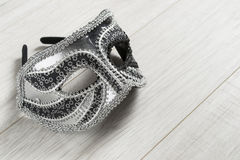 Venetian silver mask Stock Images