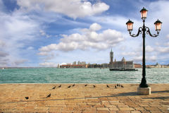 Venetian skyline. Venice, Italy. Stock Photography