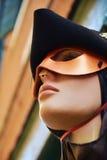 Venetian skyltdocka med maskeringen Royaltyfria Bilder