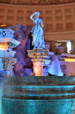 Venetian Statue and Fountain Stock Photography