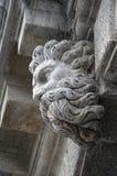 Venetian stenhuvud i Venedig Royaltyfria Foton
