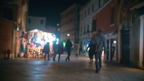 Venetian street in the evening