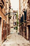 Venetian street Royalty Free Stock Photos