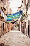 Venetian street Royalty Free Stock Images