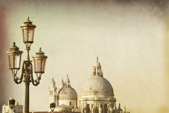 Venetian Street Lighting Royalty Free Stock Photo