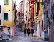 Venetian Stroll Royalty Free Stock Image