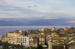 Venetian style city panorama Royalty Free Stock Images