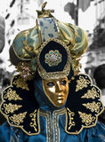 Venetian Style Costume Royalty Free Stock Photos