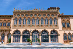 Venetian Style Palazzo. An exterior view of an elegant venetian-style palazzo stock photo