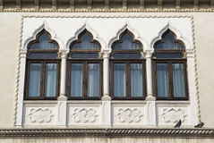 Venetian-style windows Stock Photos