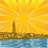 Venetian Sun Royalty Free Stock Image