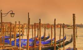 Venetian sunset Royalty Free Stock Photo
