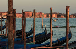 Venetian sunset Stock Photography