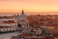 Venetian Sunset Royalty Free Stock Photo