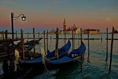 Venetian Surise Royaltyfri Fotografi