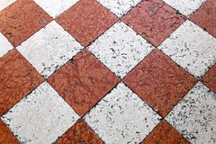 Venetian tiles Royalty Free Stock Photo