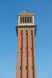 Venetian tower in Barcelona Stock Photo