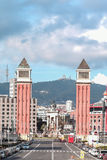 Venetian Tower - Barcelona, Spain Stock Photo