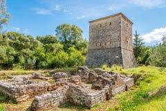 Venetian tower in Butrint Stock Photo